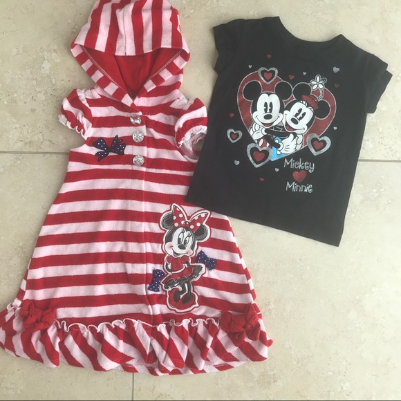 5d89f0c223868 Disney Other - Minnie Mouse bathing suit robe cover up   shirt